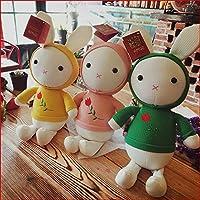 3psc赤ちゃんウサギの睡眠の快適人形スムーズ従順ウサギSleep Calm人形17