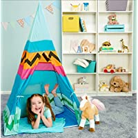 [バースデーエキスプレス]BirthdayExpress Western Aztec Indian Pretend Play Teepee Play Tent 256603 [並行輸入品]
