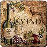 Thirstystone Vino Stone Trivet, Travertine by Thirstystone