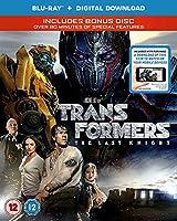 TRANSFORMERS: THE LAST KNIGHT (Blu-Ray + digital download) [2017] - UK.