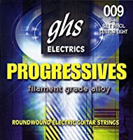 ghs エレキギター弦 PROGRESSIVES/プログレッシブ カスタムライト 09-46 PRCL