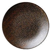 フィノ クリスタルブラウン 17.5cmプレート [ D17.8 x H2cm ] 【 中皿 】 | 飲食店 ホテル レストラン 和食 洋食 業務用