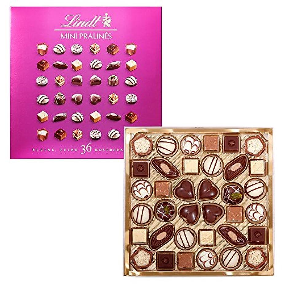意気込み観察する軽蔑するリンツ チョコレート (Lindt) ミニプラリネ 180g ピンク ショッピングバッグM付