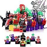 互換性有り Marvel Avengers  アベンジャーズ バットマンミニフィギア 8体セット バットマン、ジョーカー、ハレークイン他