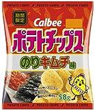 カルビー ポテトチップスのりキムチ味 58g×12袋