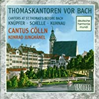 Cantors At St.thomas's Beforebach: Junghanel / Cantus Colln