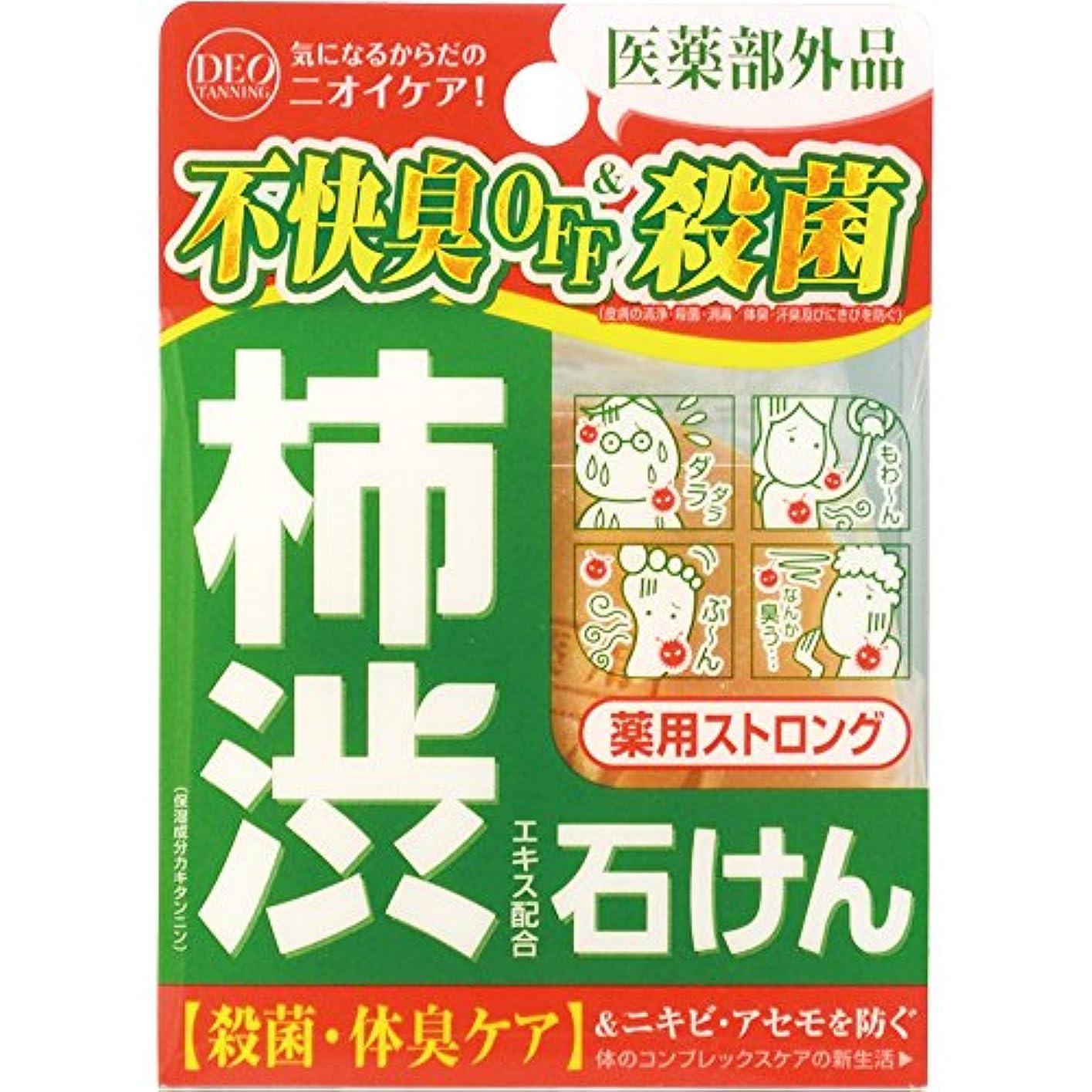 インフルエンザ拮抗感覚デオタンニング 薬用ストロング ソープ 100g (医薬部外品)