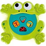 Hape E0209 Feed Me Bath Frog Toy (Pack of 6) L: 9.8, W: 1.2, H: 10.6 inch