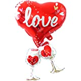 HOUZE LS-9422 Cheers For Love Foil Balloon