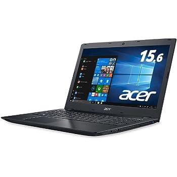 【Amazon.co.jp限定】Acer ノートパソコン Aspire E15 Core i7-7500U/15.6インチ/8GB/256G SSD/ドライブあり/Windows 10/ブラック E5-576-N78U/K