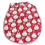 hiorie(ヒオリエ) 日本製 5重ガーゼ ベビースリーパー ウサギ 赤ちゃん スリーパー 出産祝い 新生児~2歳