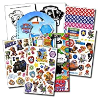 PAW Patrol Stickers Travel Activity Set Bundle with Stickers Activities and Specialty 2-sided Door Hanger 【You&Me】 [並行輸入品]