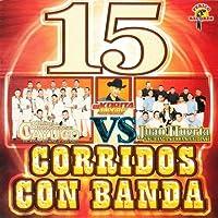 15 Corridos Con Banda