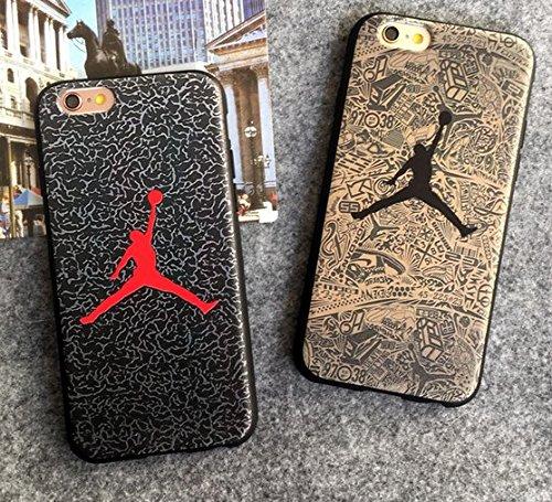 Air Jordan エア・ジョーダン 手触り良い   FASHION スマホカバー 超軽量 (iPhone6/6s, グレー)