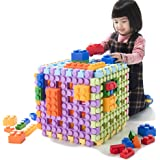 UNiPLAY Large Waffle Soft Building Blocks — Cube Puzzle for Cognitive Development, Early Learning Education and Sensory Play
