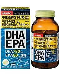 オリヒロ DHA?EPA 180粒 [機能性表示食品]