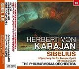 カラヤン/シベリウス:交響曲第2番・交響詩 「フィンランディア」 (NAGAOKA CLASSIC CD)