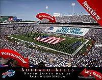 Buffalo Billsチームスタジアム印刷–カスタマイズ公式ライセンスNFLフォト。。。