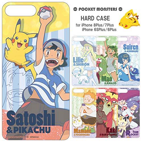 【カラー:サトシ&ピカチュ】iPhone8Plus iPho...