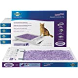 PetSafe ScoopFree Cat Litter Box Tray Refills with Lavender Non Clumping Crystals, 6-Pack