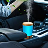 Car Diffuser Essential Oil Humidifier, USB Plug in Mini Portable Aromatherapy Car Oil Diffusers, Cool Mist Fragrance Cup Hold