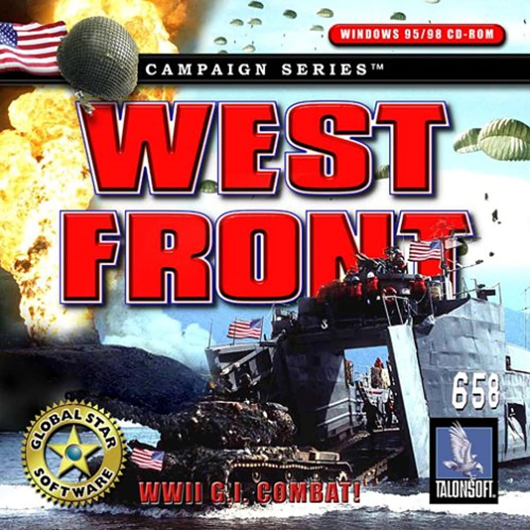 細菌週末水差しWest Front WWII G.I. Combat (輸入版)