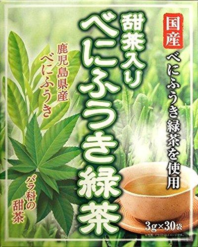 甜茶入りべにふうき緑茶 30包