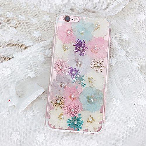押し花 flower フラワー iPhone6 PLUS/6...