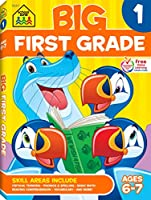 Big First Grade Workbook (Big Get Ready Workbook)