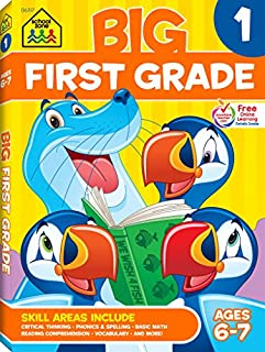 Big First Grade Workbook (Big Get Ready Workbook) (088743147X) | Amazon price tracker / tracking, Amazon price history charts, Amazon price watches, Amazon price drop alerts