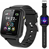 PTHTECHUS Smart Watch for Kids - Boys Girls Smartwatch with 2 Way Phone Calls SOS Games Music MP3 Player HD Selfie Camera Cal