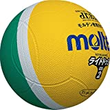 molten(モルテン) ドッジボール ライトドッジ 軽量2号球 黄×緑 SLD2ML