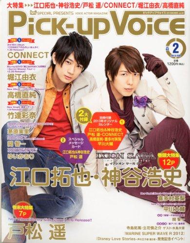 Pick-Up Voice (ピックアップヴォイス) 2013年 02月号 [雑誌]の詳細を見る