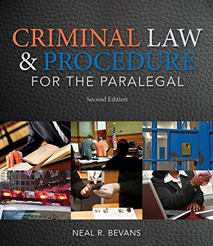 Download Criminal Law and Procedure for the Paralegal 113369358X