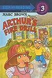 Arthur's Fire Drill (Step Into Reading Sticker Books (Pb))