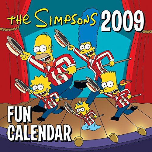Download The Simpsons 2009 Fun Calendar 0061450294