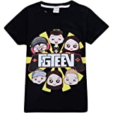 Thombase Kids Boys Girls Funny FGTeeV Family Gaming Team Hoodies T-Shirts Tops