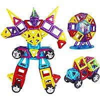 建物ブロック磁気タイル建物ブロック教育玩具キッズ子供、安全非毒性 110
