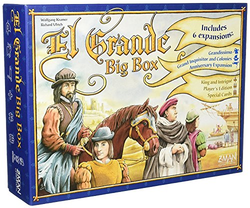 エルグランデ ビッグボックス (El Grande: BigBox) [並行輸入品] ボードゲーム