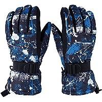スキー グローブ 手袋 5本指 防水 防寒 スノー 通勤 滑り止め アウトドア 登山 サイクリング グローブ