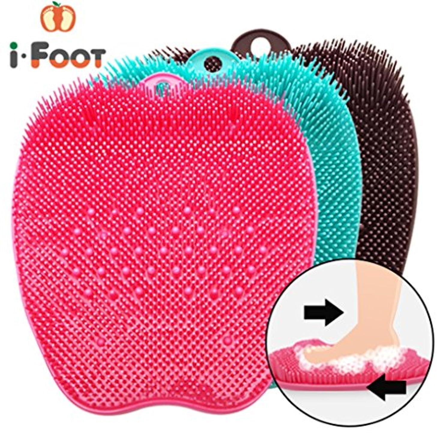 つぼみ単語電卓[アイフット] I-Foot 足ブラシ 角質除去 足の臭い除去 足ケア 洗浄 指圧版 マッサージ 半永久的使用 海外直送品 (Foot Brush Exfoliation Foot Odor Removal Foot Care...