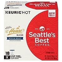 Seattle's Best Coffee Keurig K-Cup House Blend シアトルの最高のコーヒーKeurig Kカップハウスブレンド 18杯分 [並行輸入品]