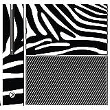 Zebra Stripe Stripes Safari Xbox One Console Vinyl Decal Sticker Skin by Moonlight Printing by Moonlight Printing [並行輸入品]