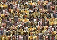 "[Impuzzle ]""Town of Amsterdam"" 1000 Piece Jigsaw Puzzle for Adults, Teens and Family"