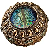 Design Toscano WU75559 The Eye of The Dragon Mystical Safe Box, Full Color