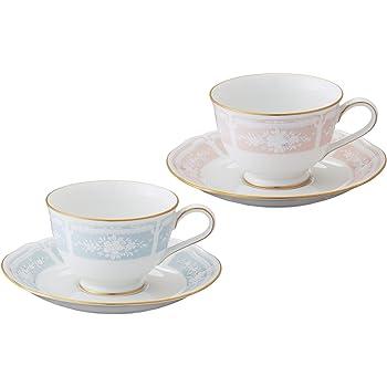 Noritake(ノリタケ) ティー・コーヒー碗皿ペアセット 色変り Y6578A/1507-14
