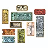 Sizzix Framelits Die Set - 662698 Ticket Booth by Tim Holtz [並行輸入品]