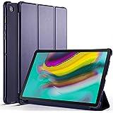 SMPO Galaxy Tab S5e ケース 10.5インチ SM-T720/T720N(Wi-Fi) SM-T725(LTE) 2019 タブレットスタンド 手帳型 オートスリープマグネット カードペン収納 ビジネス 女性 男性 人気 耐衝撃 全