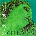Pirastro Evah Pirazzi 1/2-3/4 Cello String Set - Medium Gauge 【TEA】 [並行輸入品]