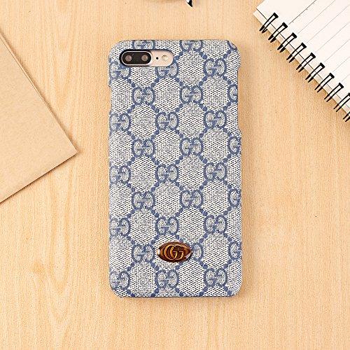 iPhone 8 Plusケース、贅沢なテクスチャバック携帯...